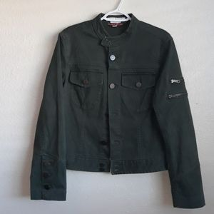 TOMMY HILFIGER MILITARY STYLE JACKET